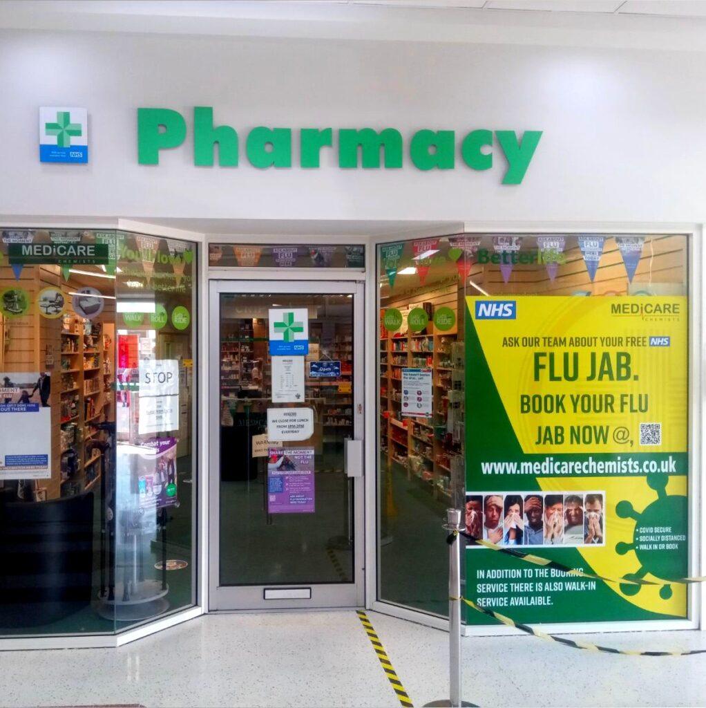 pharmacy huddersfield salendine shopping centre