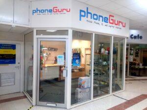 phone guru salendine shopping centre